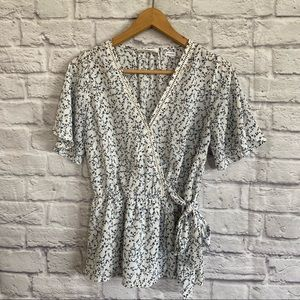 SIENNA SKY Floral Ditsy Print Top Blouse